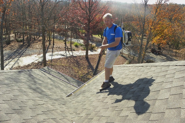 Cleaning Roof and Gutters