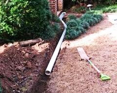 yard drainage solution